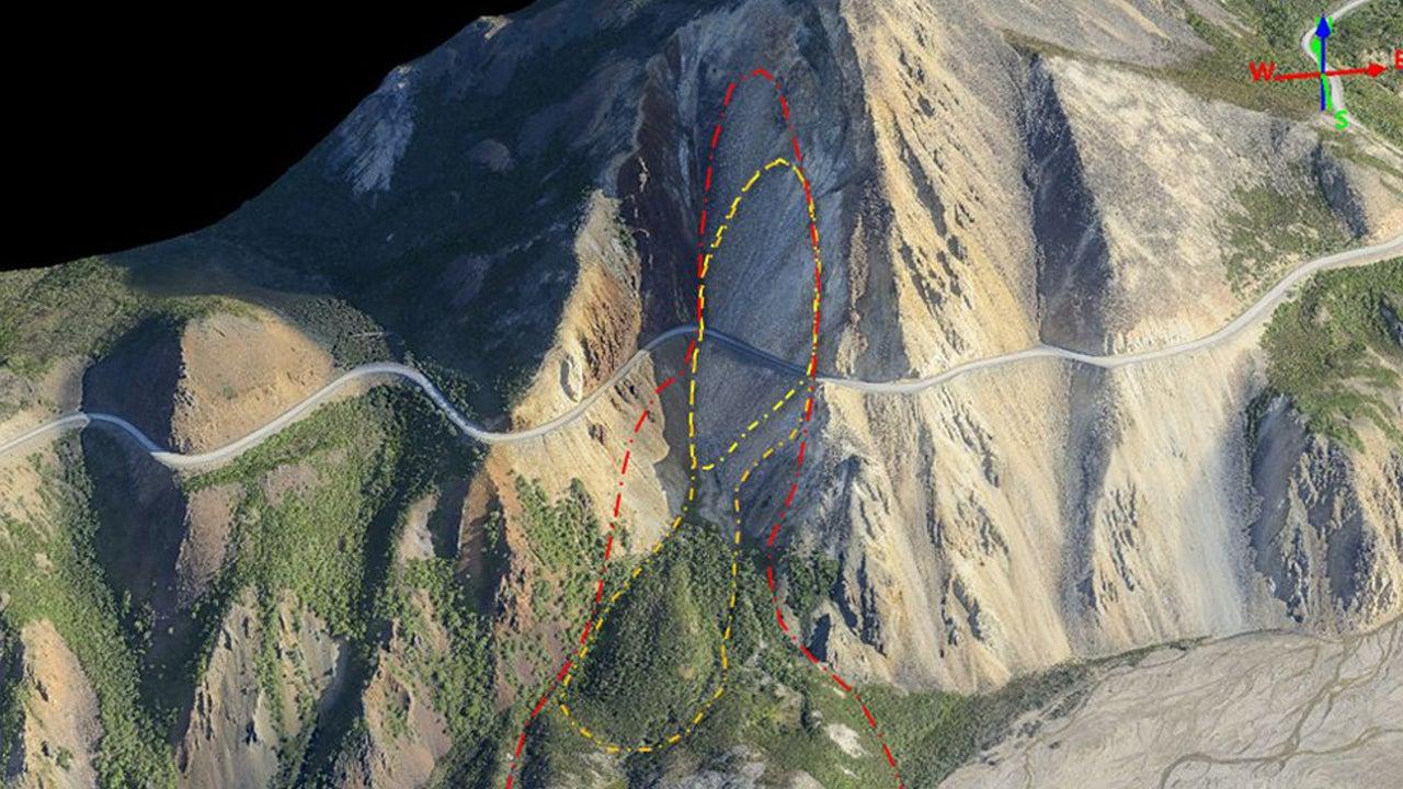 Landslide Could Close Popular Road at Alaska's Denali National Park