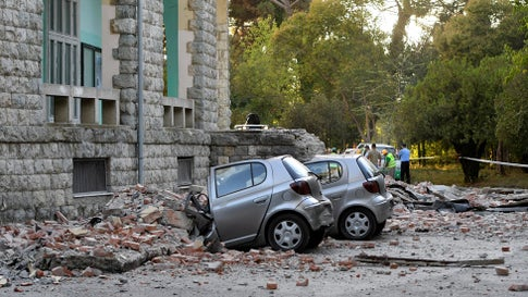 Injuries in Western Albania Earthquake Climb to Over 100; Dozens of Aftershocks