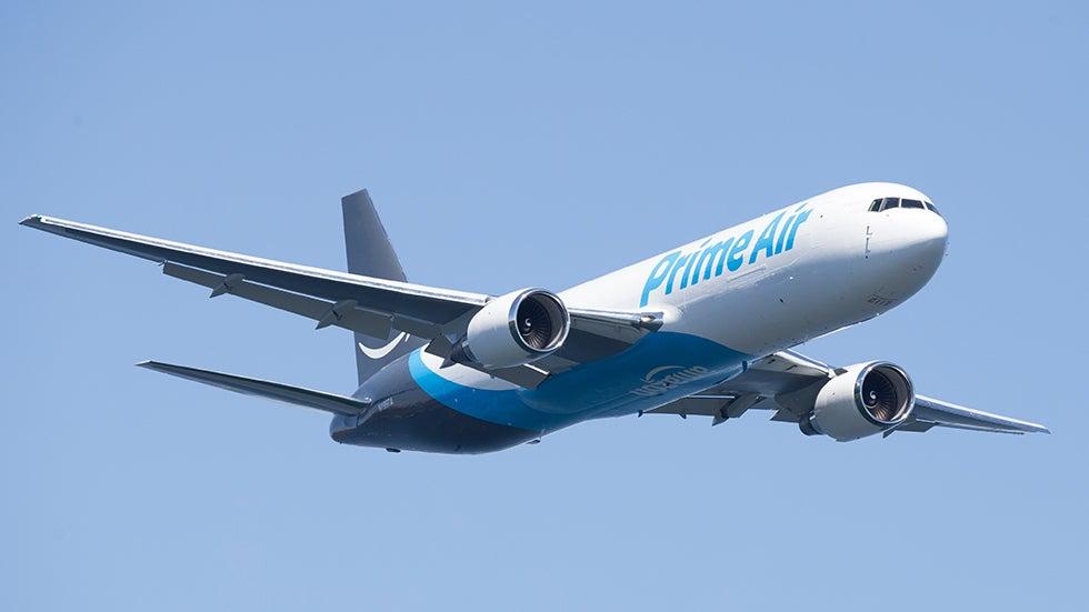Amazon Plane Crashes Near Houston With 3 Aboard