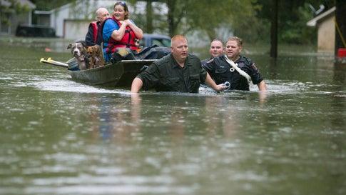Two Die in Devastating Texas Floods; Hundreds Rescued in Wake of Imelda's Torrential Rains