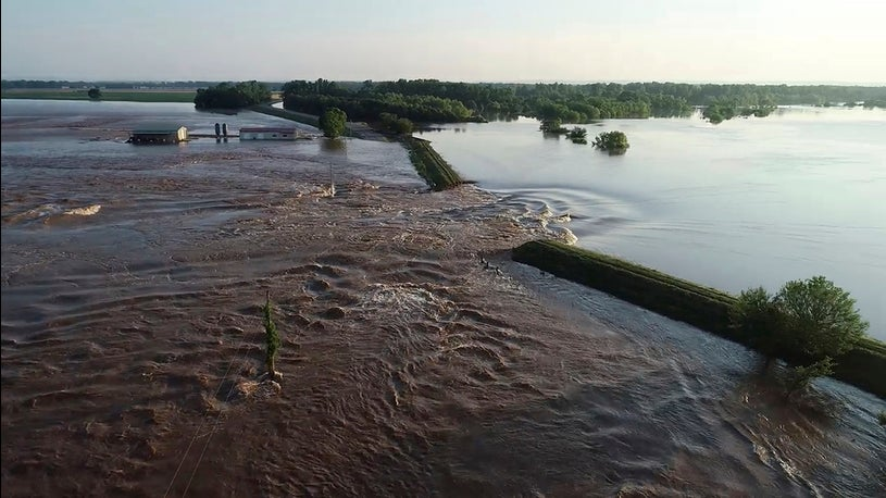 Effects of Flooding in Arkansas, Missouri, Iowa and Oklahoma Could