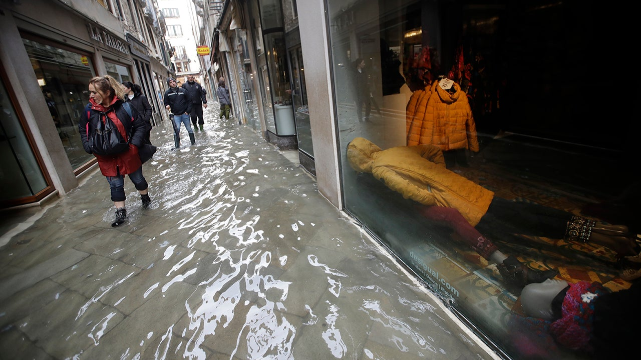 Venice plunged into deadly flooding. Fears for priceless art as waters rise