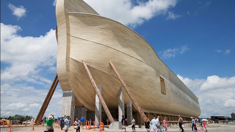 Ark Attraction Owner Sues Over Flooding Damage