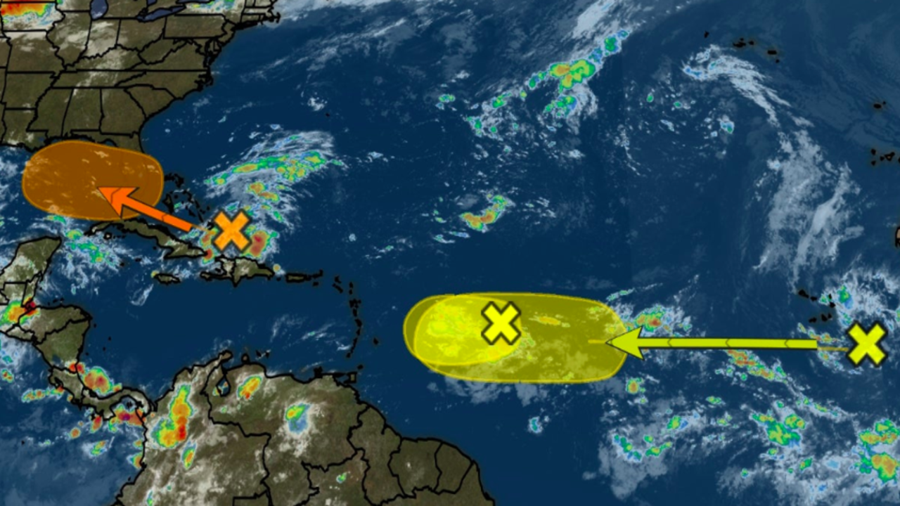 Three Areas in the Atlantic with Possible Tropical Development