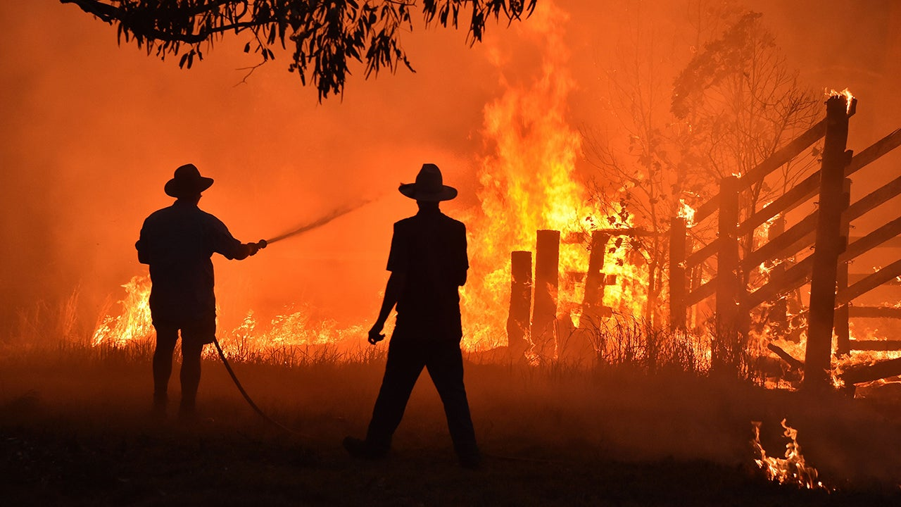 As of Wednesday morning, there were still 83 fires burning across New South Wales. Fifty of those fires were uncontained.
