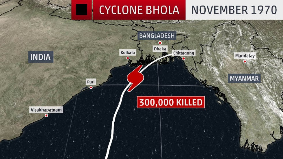The Deadliest Tropical Cyclone on Record Killed 300,000 People | The  Weather Channel - Articles from The Weather Channel | weather.com