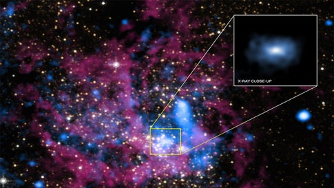 Black Hole at Center of Milky Way Galaxy Lit Up in May and No One Knows Why