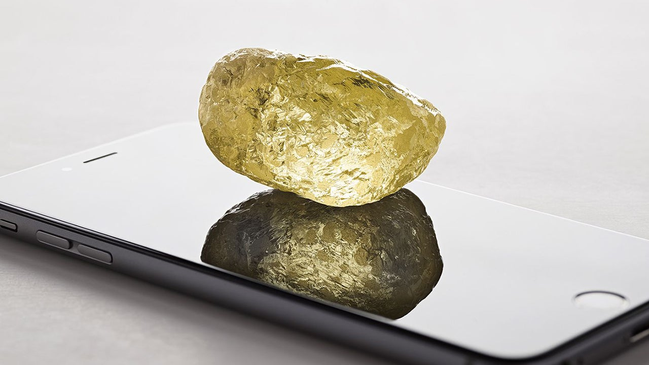 Massive Diamond Is Largest Ever Found in North America