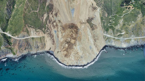 California's Big Sur's $54 Million 'Catastrophic Landslide' a Result of Drought Followed by Deluge, Scientists Say