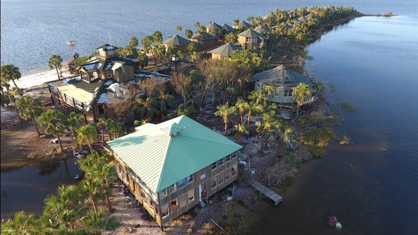 26 Florida Resort Bungalows Still Standing After Michael