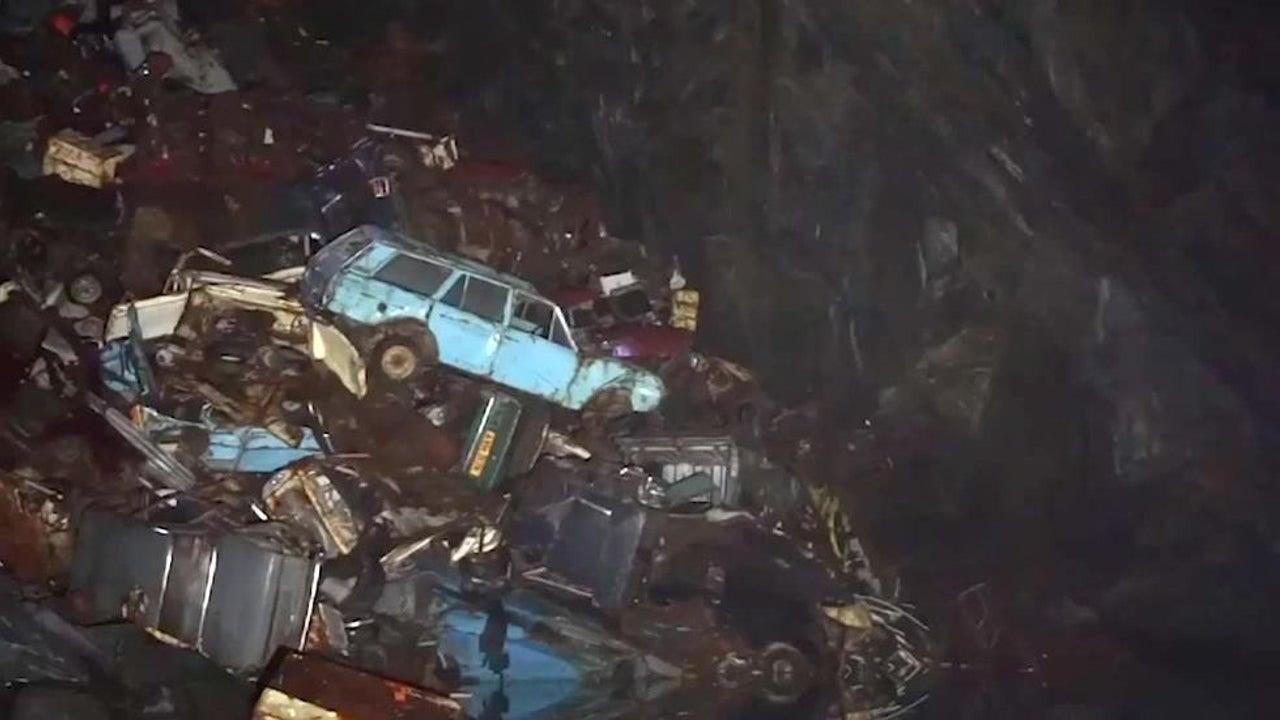 Massive Car Graveyard Found Inside Underground U.K. Cave