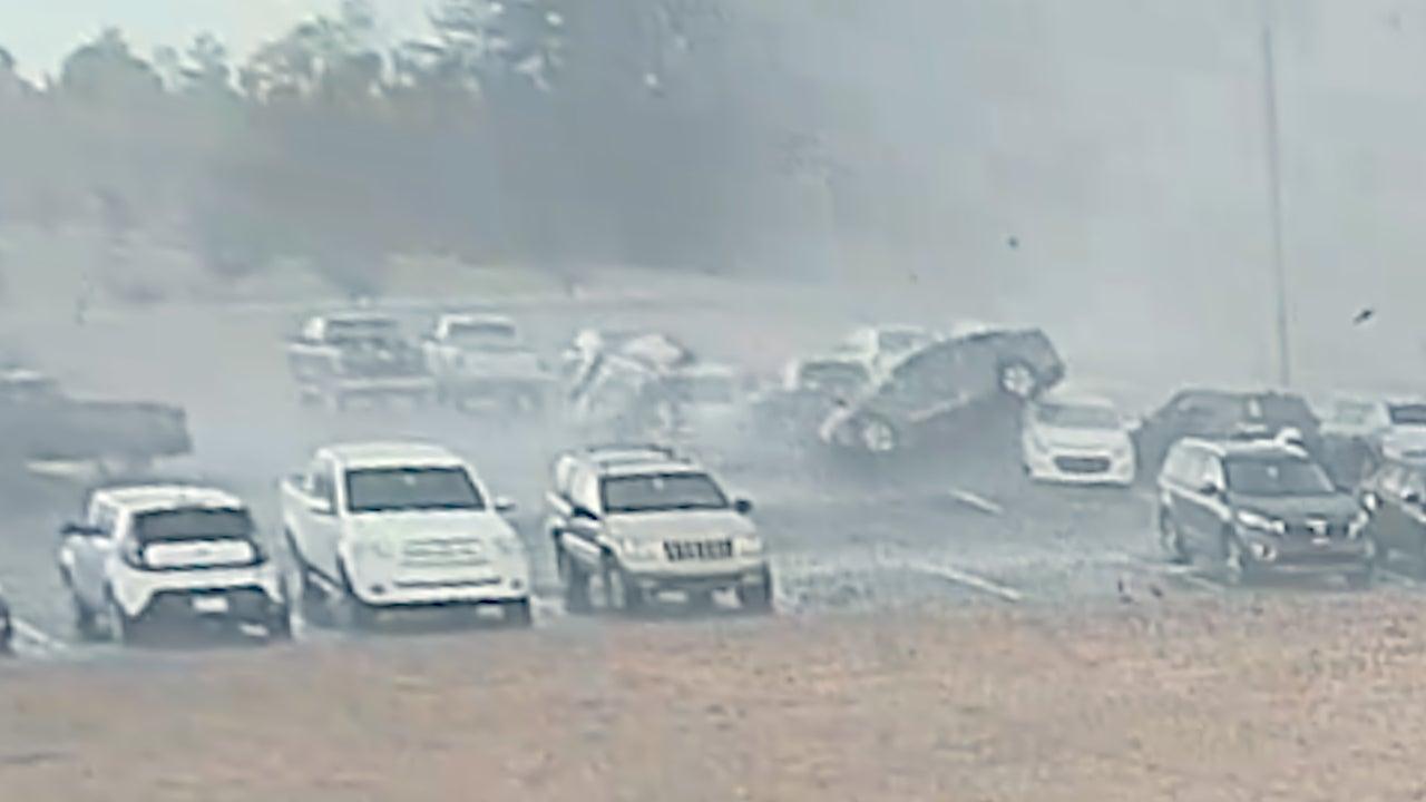 Tornado in South Carolina Lifts Cars Like Toys