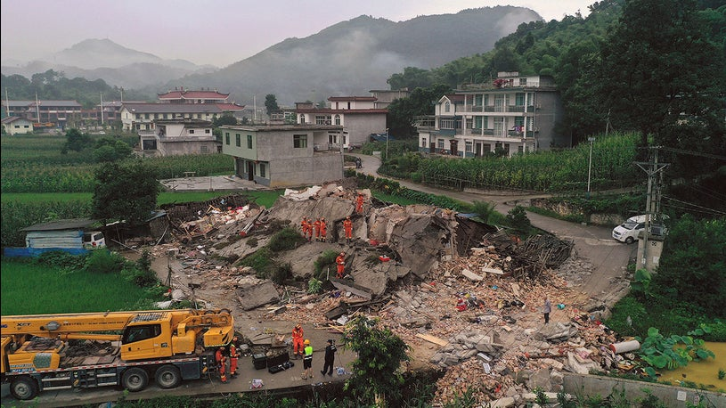 China's Sichuan Province Rocked by Powerful Earthquake and Aftershock
