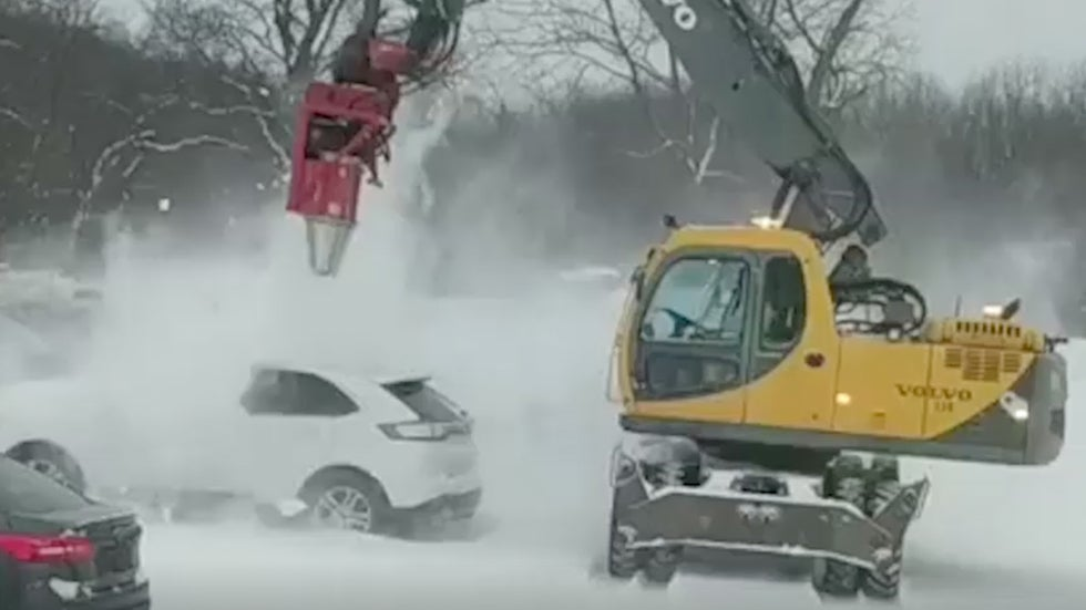 Cars Covered in Snow? No Problem!