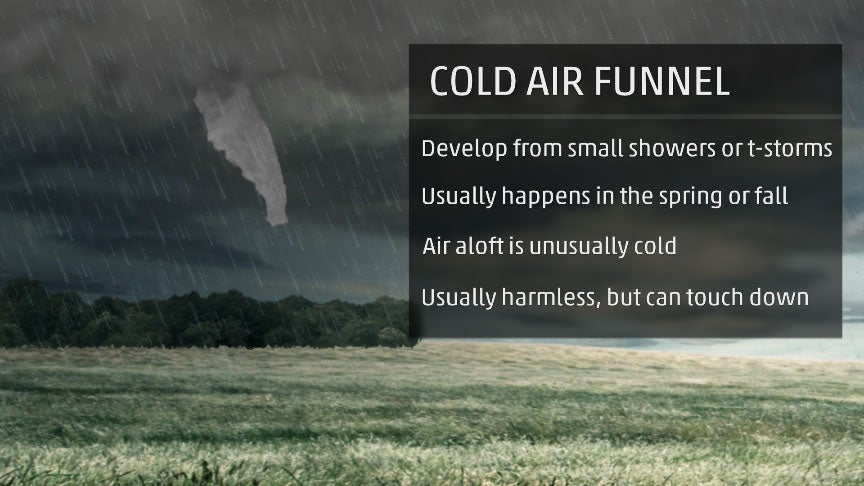 Cold Air Funnels Spotted in Kansas, Utah This Week. What Are They and Should You Be Concerned?
