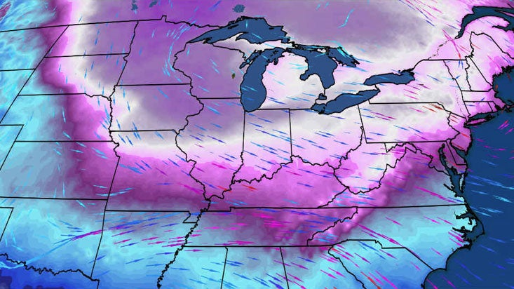 Cold Arctic Outbreak Expected in Parts of the Midwest