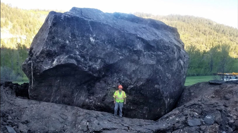Giant Boulder That Crashed Onto Colorado Highway to Stay Put