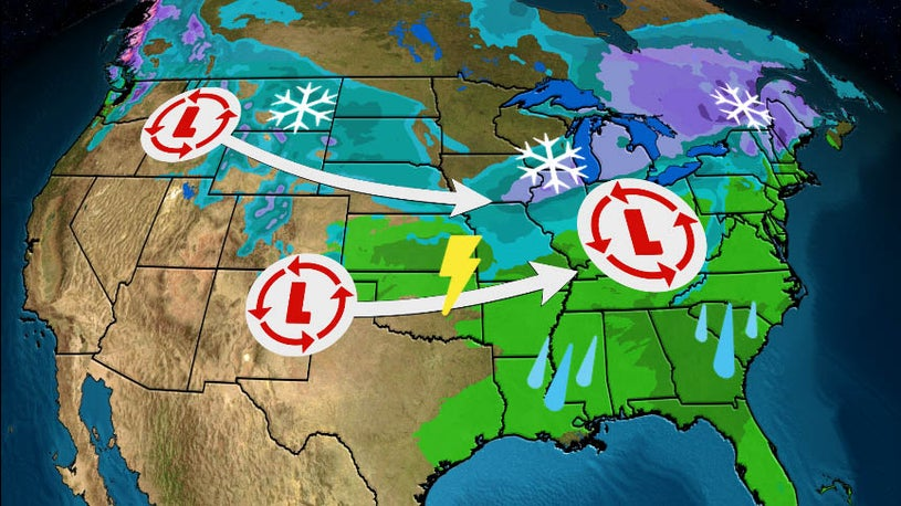 New System Could Bring Heavy Snow to the Midwest