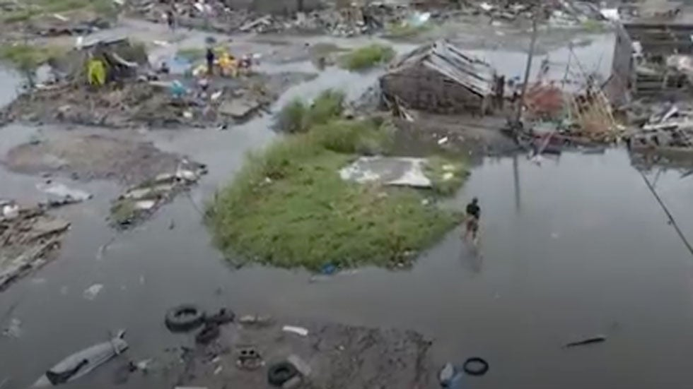Dire Humanitarian Crisis after Cyclone Idai