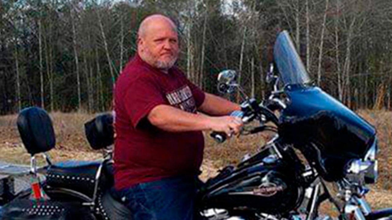 "David Wayne Dean was known as ""Roaddog"" to friends because of his love of motorcycles. (Carol Dean via AP)"