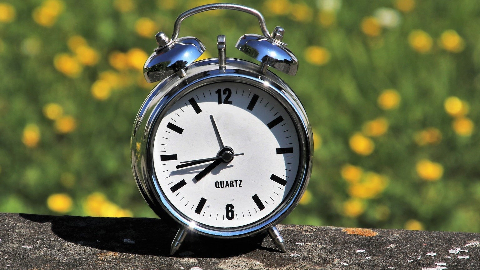 How long until the clocks go forward?
