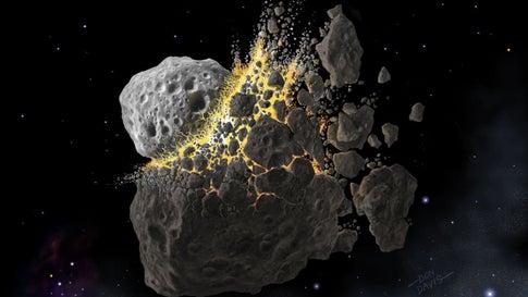 Asteroiden als Schattenspender gegen Erderwärmung? Forscher untersuchen neue Methode