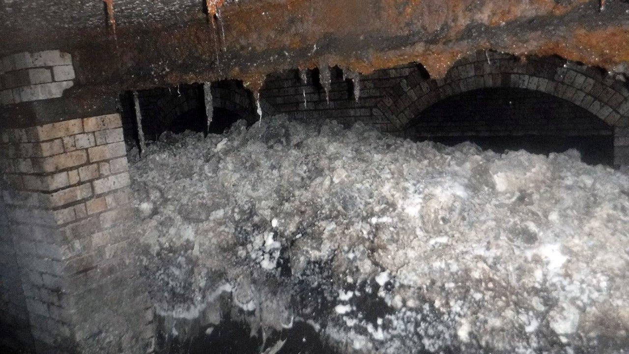 Ein riesiger Fettberg - versetzt mit Windeln, Damenbinden und sogar falschen Zähnen - wurde im vergangenen Jahr unter der britischen Stadt Sidmouth entdeckt. Mittlerweile wurde dieser schleimige Haufen untersucht und es kamen überraschende Ergebnisse zu Tage.