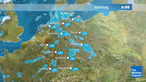 Stürmische Böen fast im ganzen Land: So wird das Wetter am Sonntag