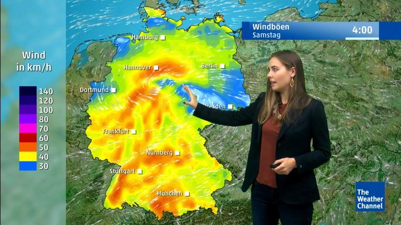 Frost in Tieflagen: Hier bringt Ex-Hurrikan Lorenzo Kälte und Sturmböen