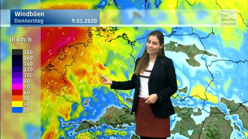 Mild und turbulent: Donnerstag bringt Dauerregen, Frost und Glätte