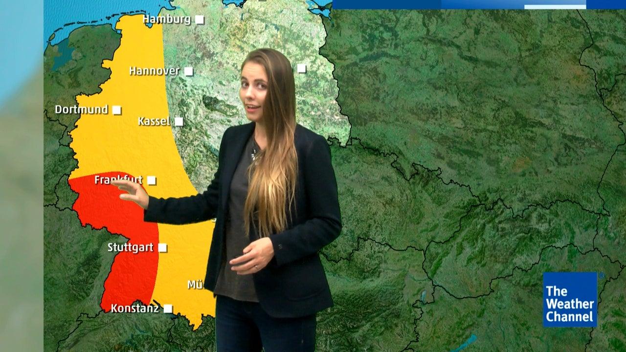 Unwetterfront zieht nach Deutschland: Wo am Freitag kräftige Gewitter drohen