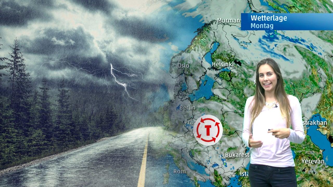 Gefährliche Unwetter: Chaospaar Vincent und Wolfgang bringen Hagel, Gewitter und Sturmböen