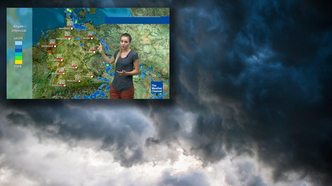 Tief Wolfgang bringt Gewitter in den Osten – dann regnet es überall