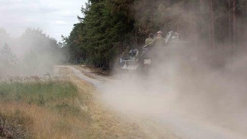 Feuer auf früheren Truppenübungsplätzen ausgebrochen - Munition erschwert Löschen