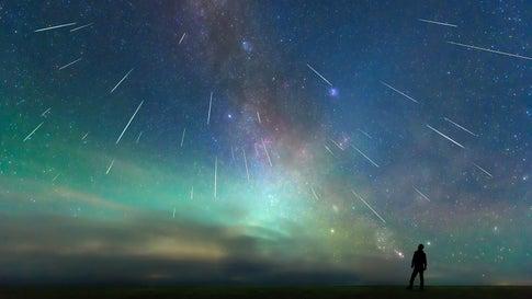 Wenn Wünsche vom Himmel fallen: Am Wochenende lohnt ein Blick in den Himmel