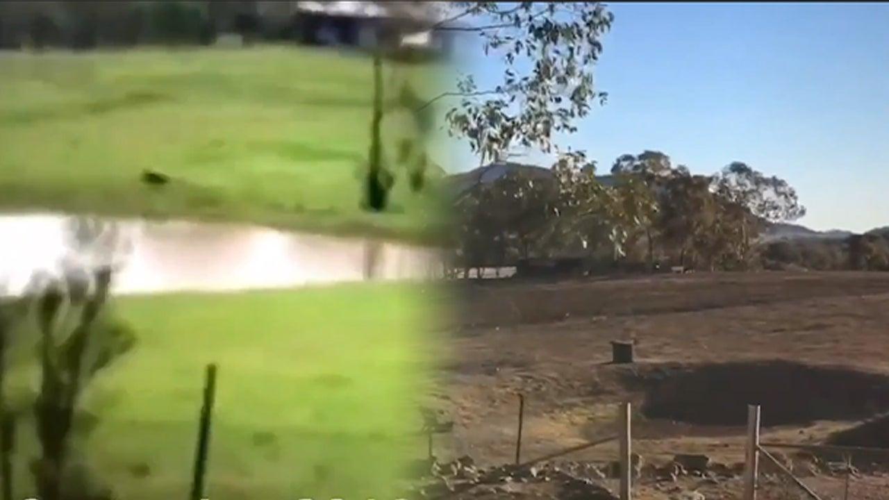 Dieses erstaunliche Vorher-Nachher-Video zeigt die Folgen der anhaltenden Dürre im Osten Australiens. Die Felder sind heute nicht mehr wiederzuerkennen.