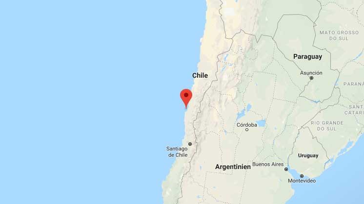 Beben in Chile