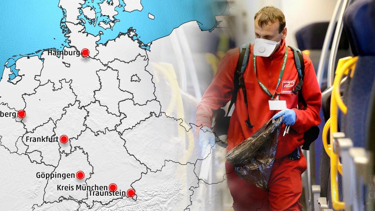 corona infizierte europa karte