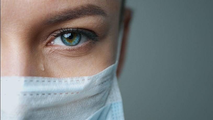 Augenherpes Durch Mundschutz