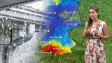 Überschwemmungen drohen: Hier bringt das Wochenende heftigen Regen