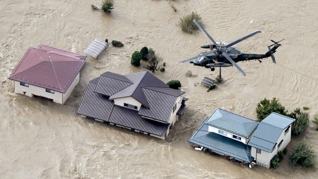 Taifun Hagibis bringt Japan schwere Fluten - Mindestens 23 Tote