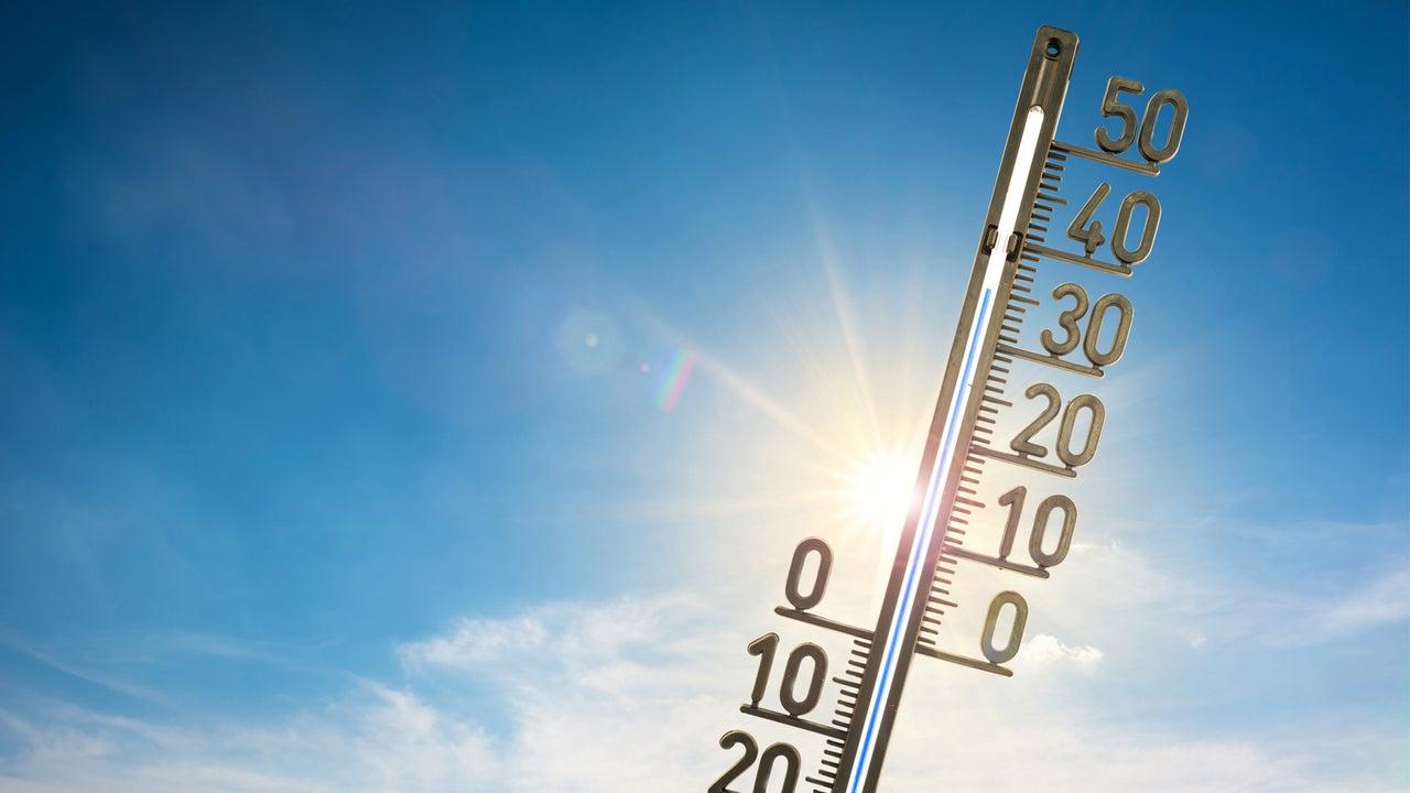 In der neuen Woche wird es wieder heiß