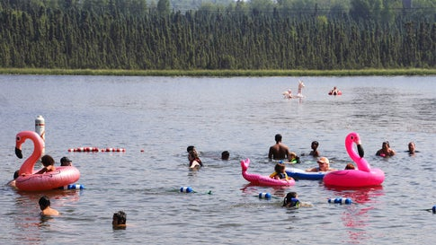 Polarkreis Alaska Karte.Heißer Juli Beschert Alaska Und Polarkreis Gleich Mehrere Hitze