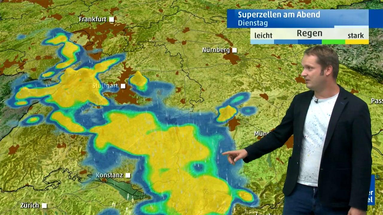 Explsosive Wetterlage: Superzellen ziehen auf diese deutschen Großstädte zu