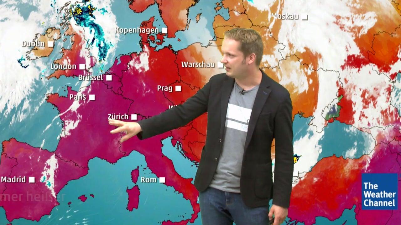 Wetter heute: Gluthitze fängt am Mittwoch erst richtig an