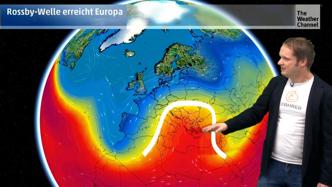 Rossby-Welle bringt Wintereinbruch im Januar