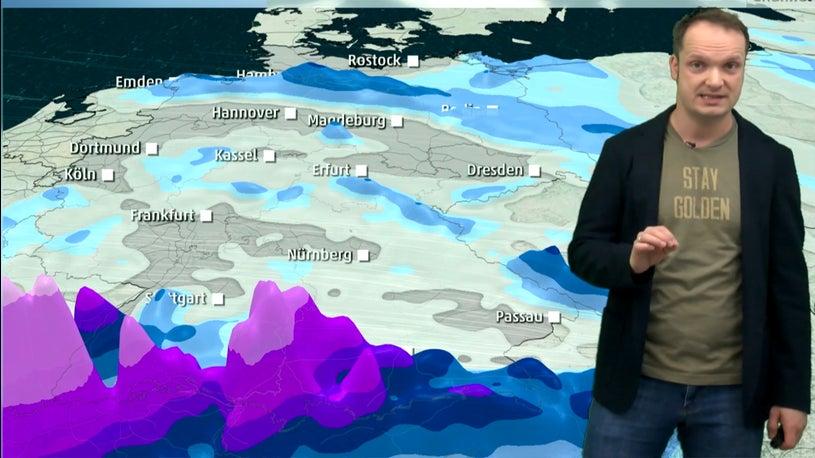 Schnee bis nach Hamburg und Berlin: Hier droht am Dienstag Verkehrschaos