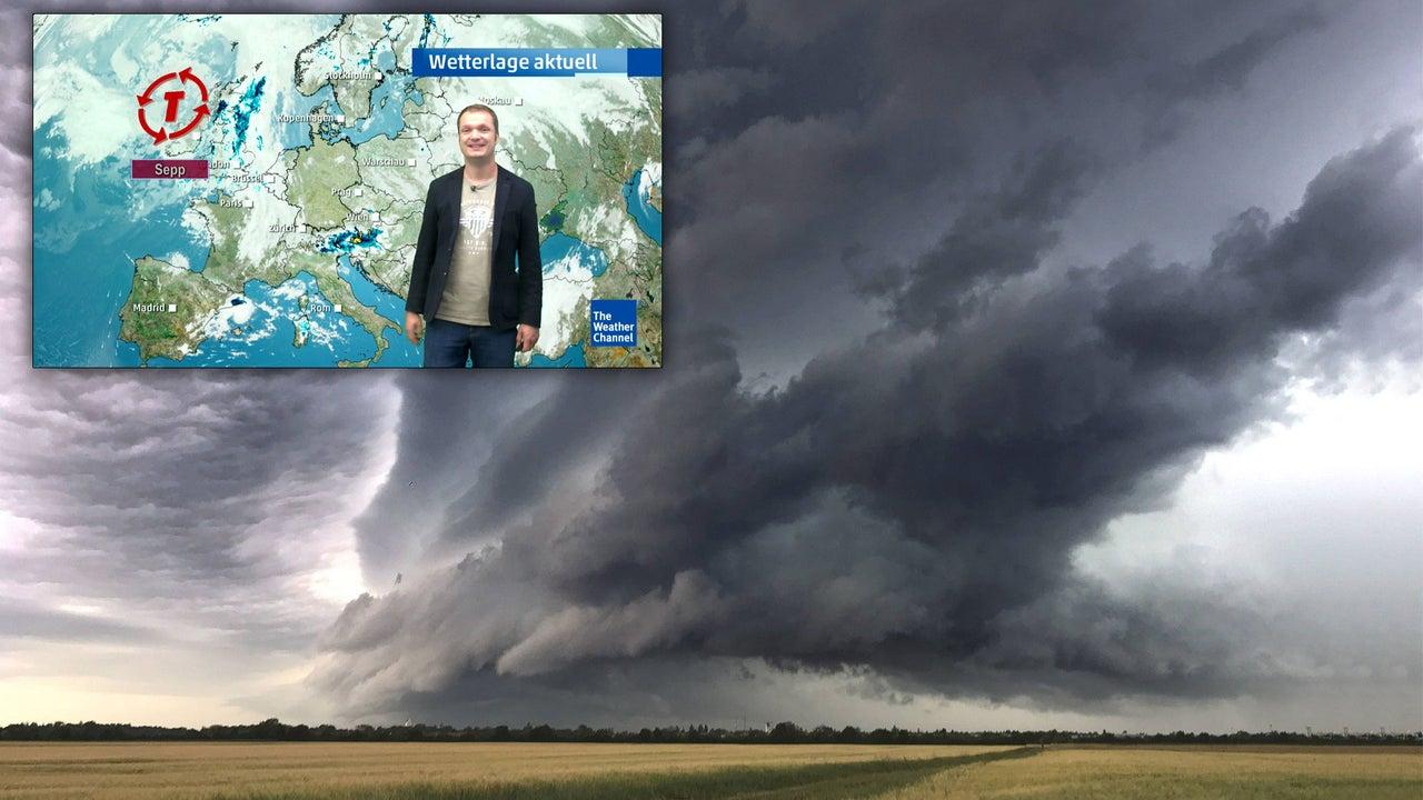 Wetter heute: Sommerwetter, doch Tief Sepp kommt