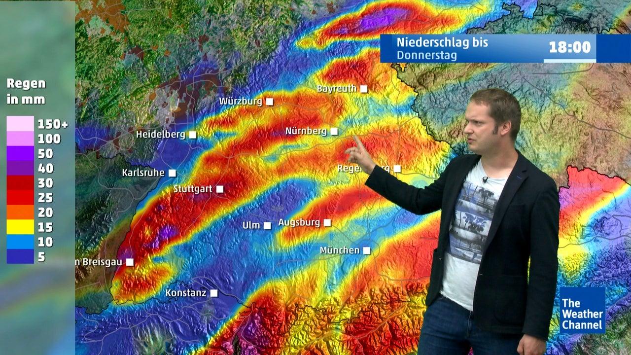 Wetter heute: Unwetterartiger Regen kommt an