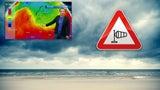 Temperatursturz bringt Unwetter: Dienstag drohen Gewitter und Stumböen bis 100 km/h